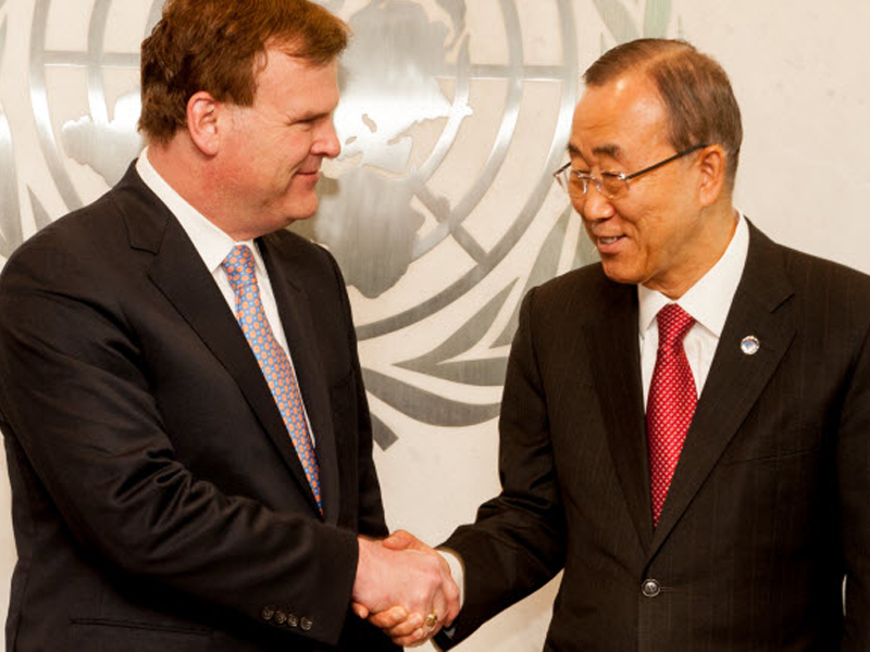 Baird Meets with UN Secretary-General