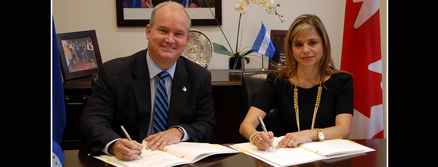 Canada and Honduras Mark Latest Milestone in Implementing Canada-Honduras Free Trade Agreement