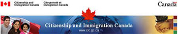 Citizenship and Immigration Canada Banner