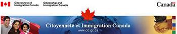 Bannière de Citoyenneté et Immigration Canada