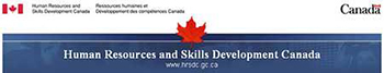 Human Resources and Skills Development Canada Banner