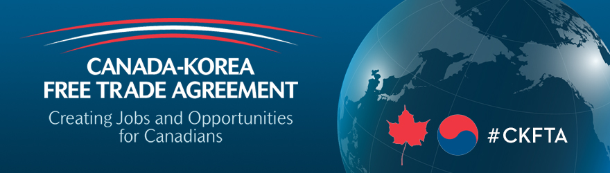 Final Agreement of Canada-Korea Free Trade Agreement