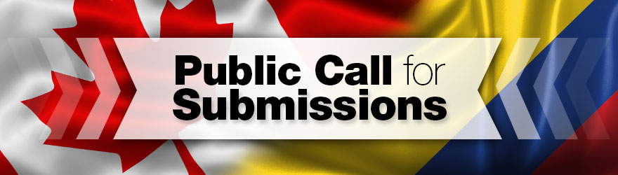 Public Call for Submissions