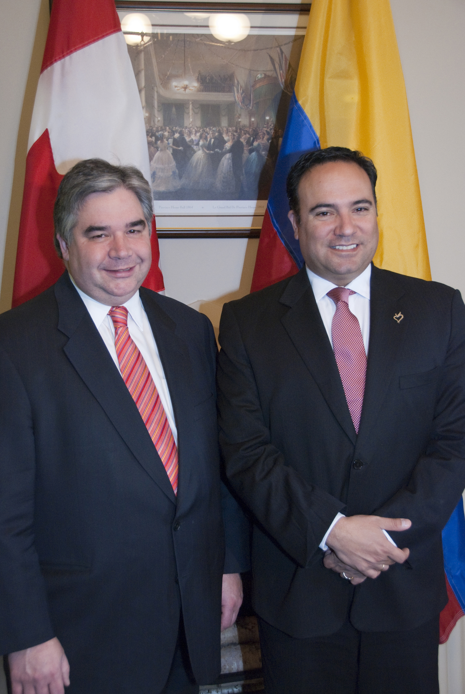 Photo Release Implementation Of Canada Colombia Free Trade Agreement