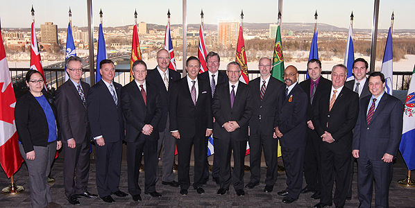 Minister Fast meets with his provincial and territorial counterparts responsible for international trade.