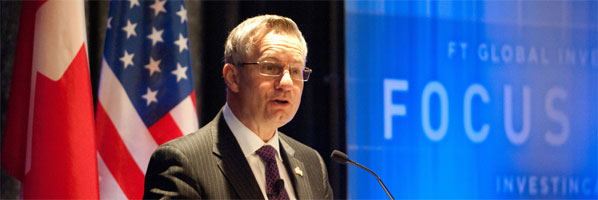 Minister Fast promotes Canada at investment conference