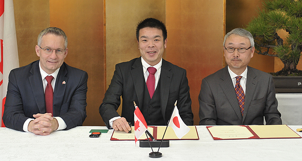 Minister Fast Highlights Major Commercial Deal in Japan.