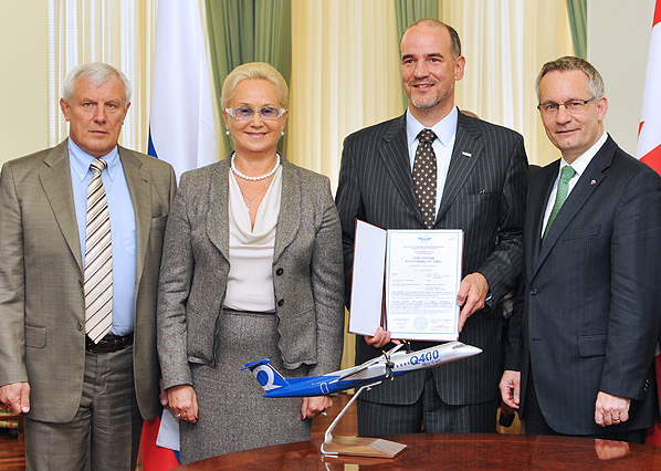 Minister Fast celebrates Bombardier Aerospace success in Russia