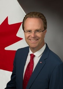 Jean-Philippe Linteau, Consul General of Canada in Dubai and the Northern Emirates, United Arab Emirates