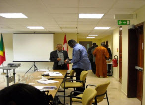 Roundtable dialogue, Senegal, 2010
