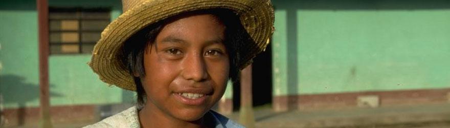 Portrait d'un jeune Guatémaltèque. © ACDI-CIDA/Patricio Baeza