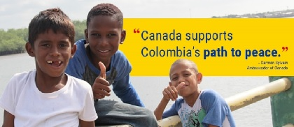 Canada supports Colombia's path to peace.