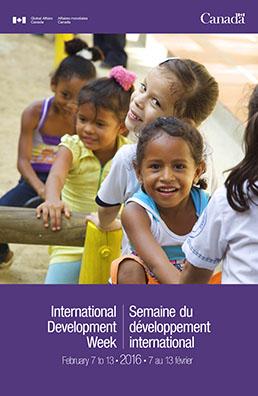 International Development Week Poster 2016