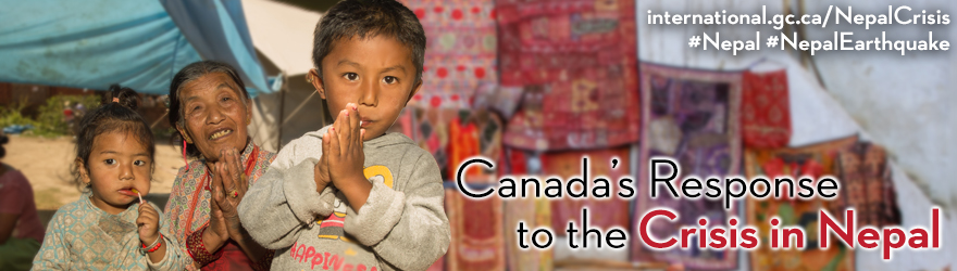 Canada's Response to the Crisis in Nepal
