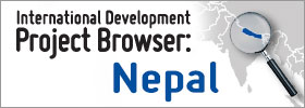International Development Project Browser: Nepal graphic