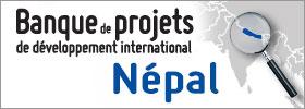 Banque de projets de développement international: Nepal - graphique