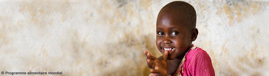 Une jeune fille - © Programme alimentaire mondial