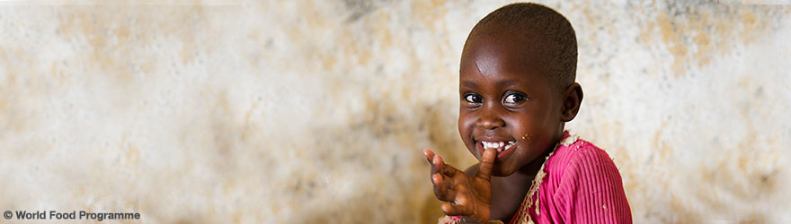 A young girl - © World Food Programme