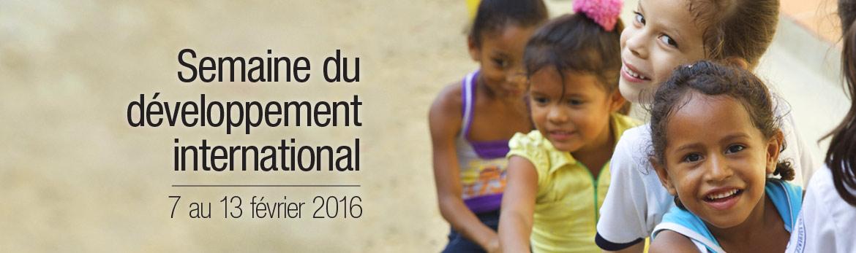 Semaine du développement international 2016