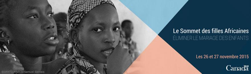Le Sommet des filles Africaines - Éliminer le marriage des enfants