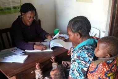 Registering birth days in Tanzania