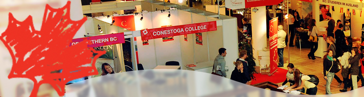 An international education fair.