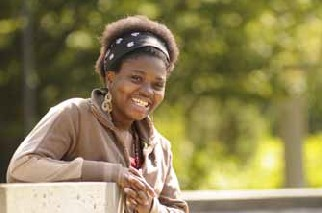 Ghanaian student, Regina Nyamekye, winner of a UBC International Student Humanitarian Award, received her Bachelor of Arts degree from UBC in 2011.