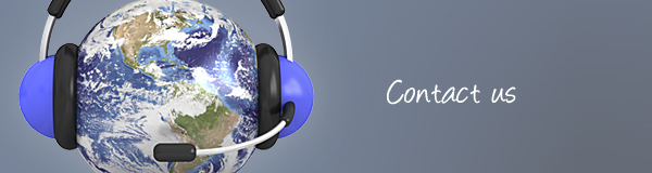 Planet earth with a headset and microphone