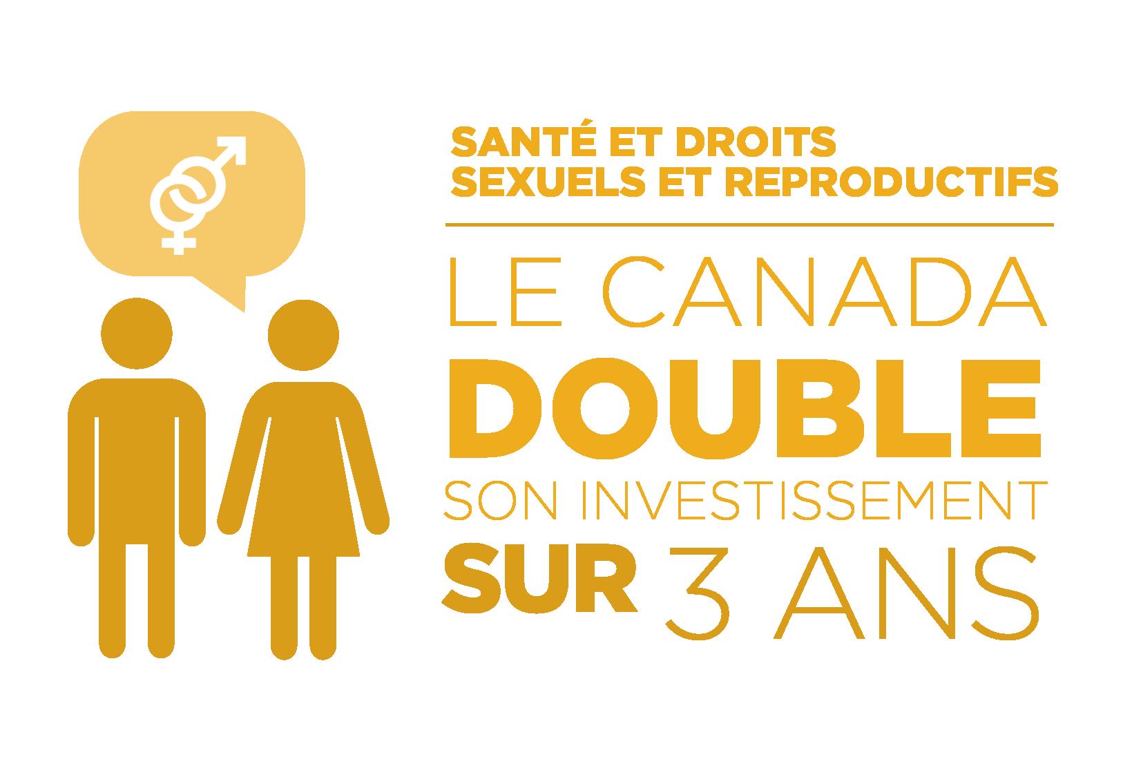 Santé et droits sexuels et reproductifs : Le Canada double son investissement sur 3 ans.