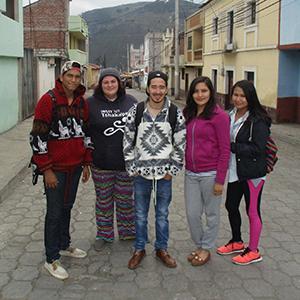 International Aboriginal youth interns