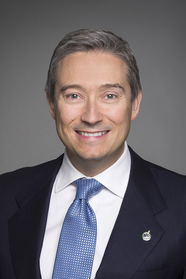 The Honourable François-Philippe Champagne – Minister of Foreign Affairs