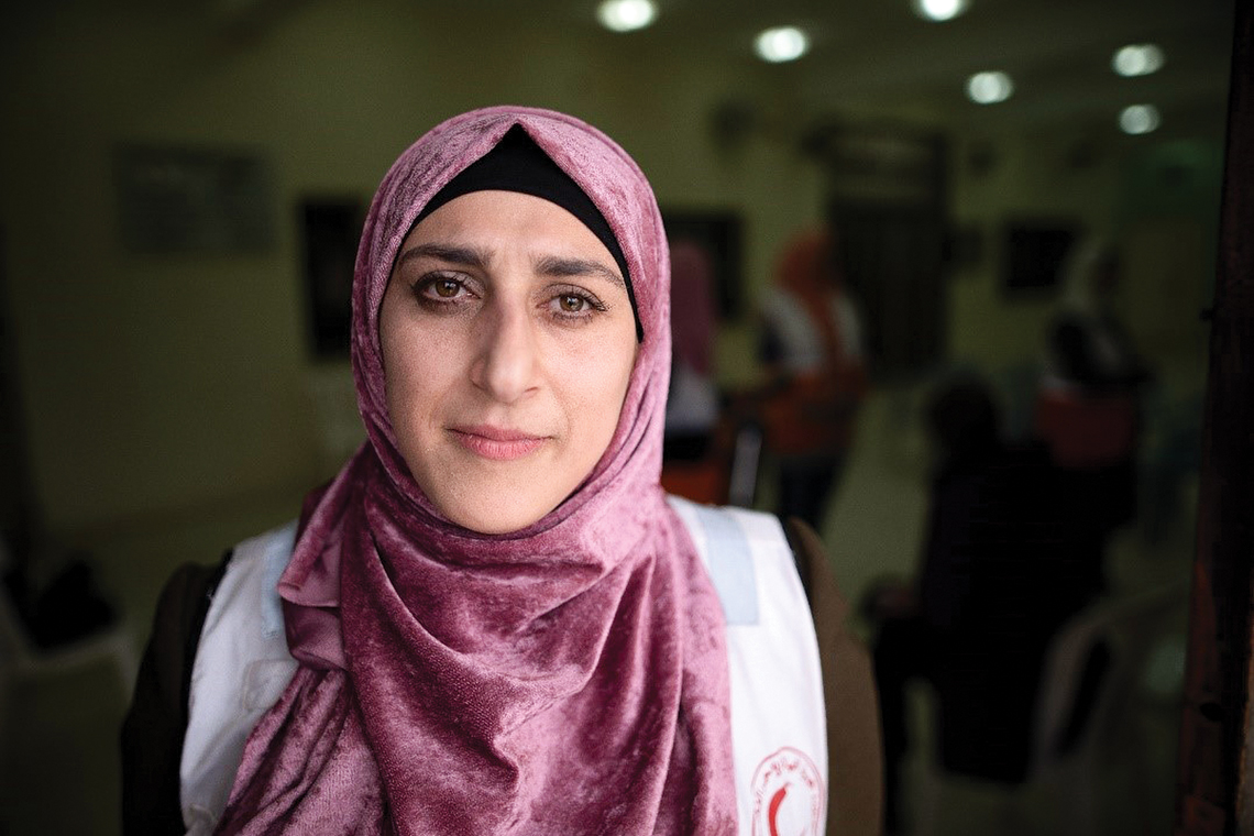 Territory: West Bank and Gaza © Alary, Canadian Red Cross