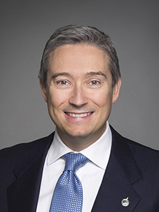 The Honourable François-Philippe Champagne, Minister of Foreign Affairs