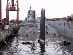 Two strategic ballistic missile submarines have been eliminated in a partnership arrangement with the USA and the Russian Federation. One such submarine was a Typhoon Class – the largest in the World.