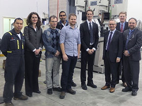 Minister Fast Tours Ontario Energy Manufacturing Company
