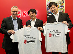 Minister Fast Congratulates gumi Inc. on Opening First Canadian Office