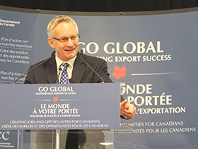 Minister Fast Marks Historic Year for Canadian Trade and Investment