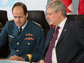 2014-04-17 - PM announces Canada's support of NATO's ongoing efforts to enhance security and stability in Central and Eastern Europe