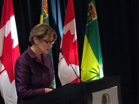 Minister Yelich Encourages Investment in Saskatchewan