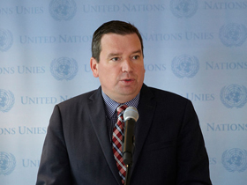 Minister Paradis Attends High-Level Meeting on Ebola Crisis