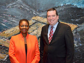 Minister Paradis Meets with the Under-Secretary-General and Emergency Relief Coordinator of the United Nations Office for the Coordination of Humanitarian Affairs