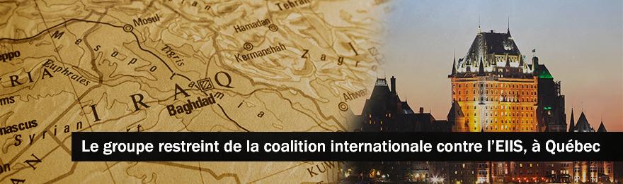 Le ministre Nicholson conclut sa participation à la réunion de la coalition contre l'EIIS et annonce des programmes supplémentaires pour lutter contre l'EIIS