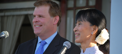 Minister Baird Travels to Burma