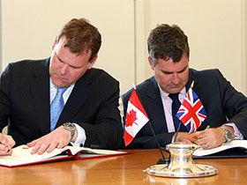 Canada and UK Conclude Agreement for the Avoidance of Double Taxation and the Prevention of Fiscal Evasion