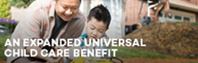 An Expanded Universal Child Care Benefit