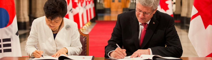Canada – Korea Free Trade Agreement brought into force: January 1, 2015
