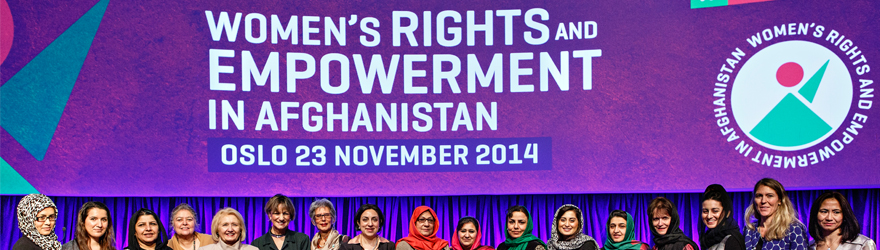 Minister Yelich at the Oslo Symposium on Advancing Women's Rights and Empowerment in Afghanistan