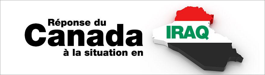 Réponse du Canada à la situation en Iraq