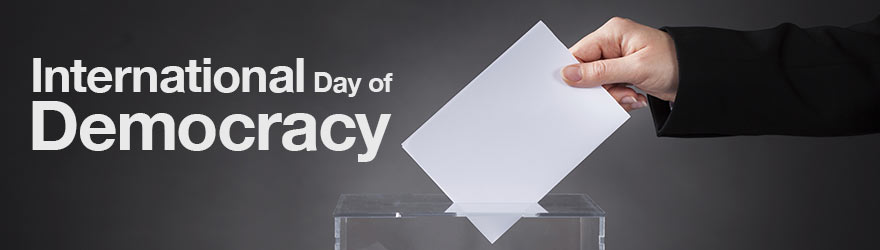 Statement from Minister Paradis on International Day of Democracy