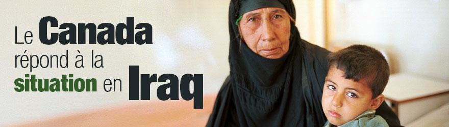 Le Canada envoie du matériel de secours en Iraq